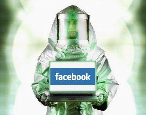 facebook virusas